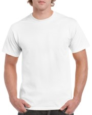 c1d75fa9d Heavy Cotton Adult T-Shirt (white) 193gsm 100% Cotton, Preshrunk Jersey  Knit White T-Shirt Price including a one colour print from: $6.66